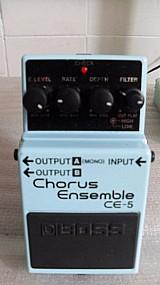 Pedal boss chorus essemble ac.tr.(n~tc.eletr.nux, mars, mxr, li
