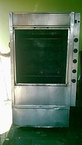 Maquina para assar carnes e frango - tedesco mx 120