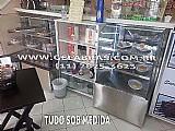 Expositor usado  de bolos e doces em sao paulo