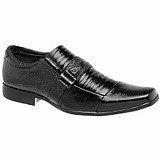 Sapato social masculino em couro legitimo frete pac gratis