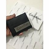 Carteiras ck calvin klein couro original na caixa