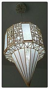 Lustre artesanal 65 cm frete grátis