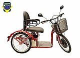 Triciclo eletrico  para idosos