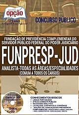 Concurso funpresp-jud 2016  analista - todas as áreas/especialidades (comum a todos)