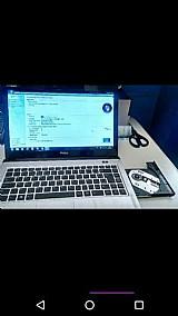 Notebook philco a venda processador dual core 4gb memã³ria  hd 150 gb gravador cd,dvd tela led 14 polegadas