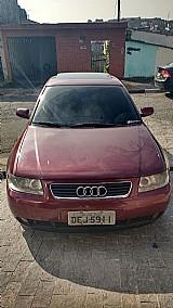 Audi a3 1.8 turbo 5p mec. cor vinho 2001