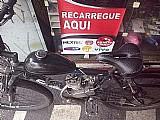 Bicicleta motorizada gasolina,  aro 26,  preta usada