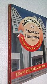 Livro administracao de recursos humanos -jean pierre marras
