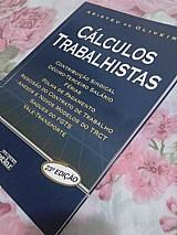 Livro usado calculos trabalhistas - livro recursos humanos
