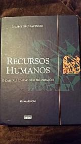 Livro usado recursos humanos autor: idalberto chiavenato, oitava ediã§ã£o