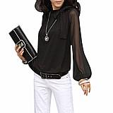 Blusa feminina bowtie cod. 904