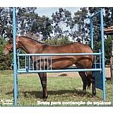 Tronco de contencao de equinos - brete