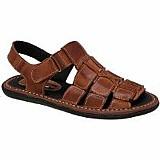 Sandalia chinelo masculino em couro conforto e maciez