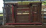 Tronco de contencao bovina - balanca/tronco