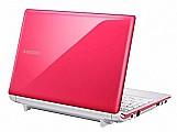 Netbook samsung n150 plus rosa,  consulte