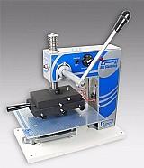 Maquina para gravacao em hot stamp capa dura