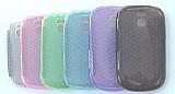 Capa silicone celular lg t500,  t510 e t515 6 unidades
