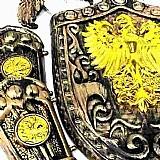 Kit escudo espadas gladiador fantasia medieval 4 pecas/ 9081