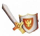 Jogo de almofadas espada escudo medieval rpg magic dungeons