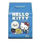 Areia higienica hello kitty azul