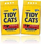 Areia higienica gatos tidy cats 2 kg - kit com 02 unidades