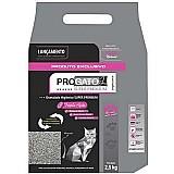 Areia sanitaria pro gato super premium - 2, 5 kg