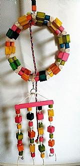 Brinquedo para papagaio ! arco-diversao! *frete gratis *