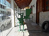 Maquina de fazer tijolo ecologico