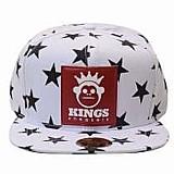 Bone kingss aba reta snapback sneakers stars estrela cores