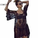 Blusa feminina renda preta cod. 987