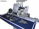 Maquina de bordar eletrônica base cilindrica