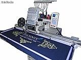 Maquina de bordar eletr�nica base cilindrica