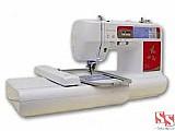Maquina de bordar domestica ss900 bivolt