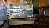 Balcao estufa gelopar para salgados 1, 15mt para padaria