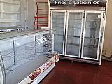 Balcao refrigerado expositor 2mt 220v padaria lancheria rest