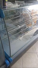 Balcao refrigerado usado para padaria ou mercado