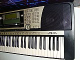 Teclado yamaha psr 740 arranjador na musical brother