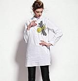 Blusa feminina social longa cod. 1000