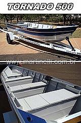 Barco de aluminio martinelli tornado 500 borda alta com ate 4 pessoas