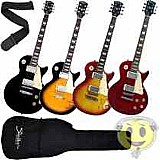 Guitarra les paul shelter nashville na305gb   bag - kadu som