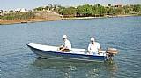 Barco 3,50 m borda alta pronta entrega financiamos em 12x