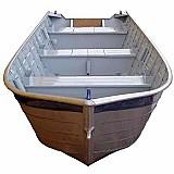 Barcos de aluminio 5m borda alta pronta entrega financiamos em 12 vezes