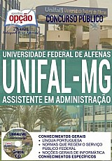 Apostila - assistente em administração - concurso unifal mg 2016