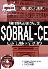 Apostila - agente administrativo - concurso sobral ce 2016 impressa