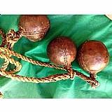 Boleadeira gaucha autentica,  antiga e original