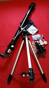 Telescopio azimutal tele-90060 900mm e objetiva 60mm greika