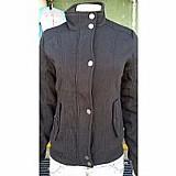 Jaqueta feminina em moletom forrada - moda outono inverno    novo   8 vendidos