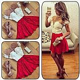 Mini vestido fashion