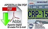 Apostila - auxiliar administrativo - concurso crp 15ª regiao 2016