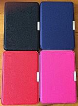 Capa case couro tablet 6 kindle paperwhite hibernacao